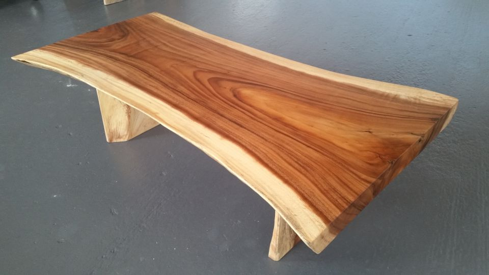 Fleuryne cr ation le sp cialiste du bois de suar - Plateau de table en bois epais ...