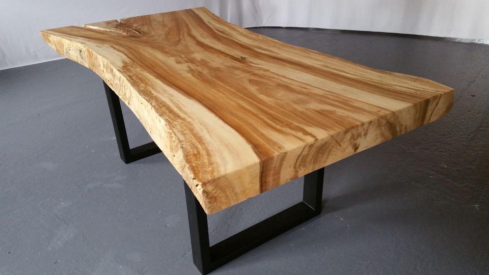 creation table bois massif. Black Bedroom Furniture Sets. Home Design Ideas